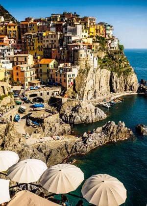 Cinque Terre & beaches in Italy :: My Italian Treasures & Elizabeth Namack, tour operator