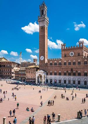 Siena & Piazza del Campo :: My Italian Treasures & Elizabeth Namack, tour operator