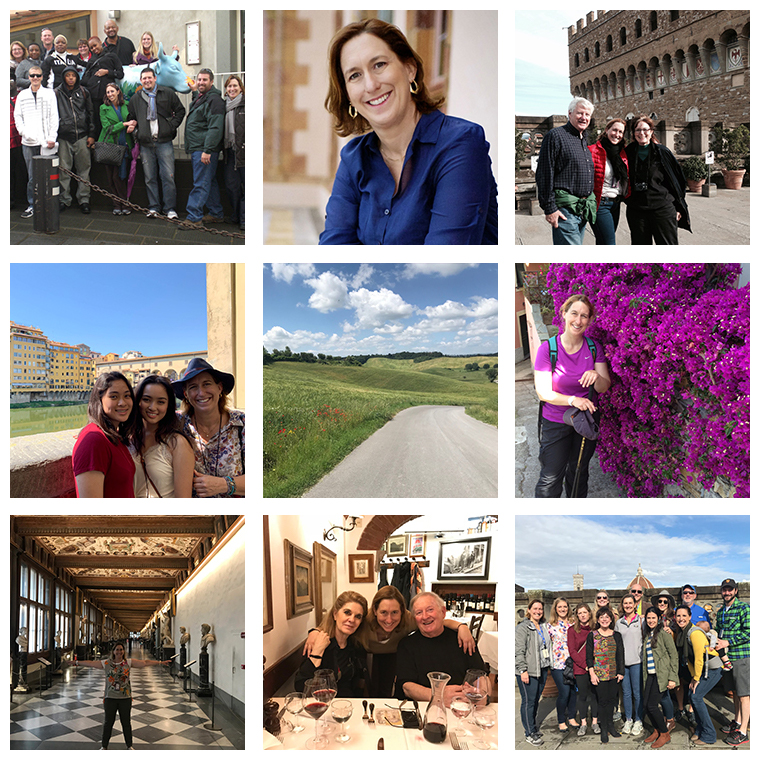 References for My Italian Treasures & Elizabeth Namack, tour operator
